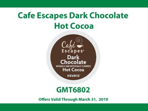Cafe Escapes Dark Chocolate Hot Cocoa
