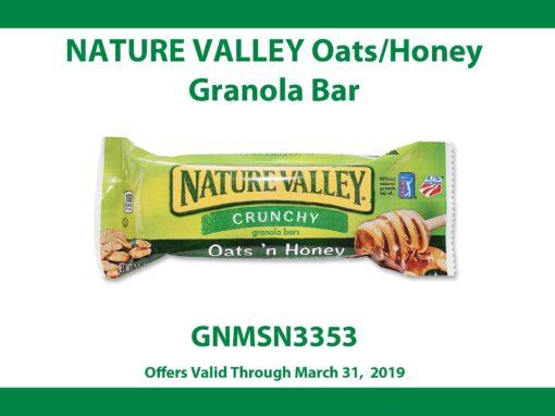 Nature Valley Oats/Honey Granola Bar